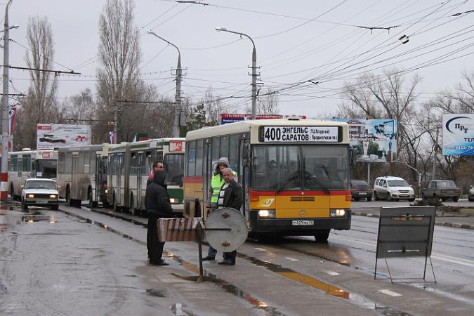 Автобус Саратов-Энгельс