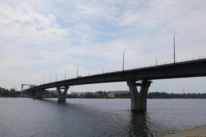 Новый мост через Волгу в