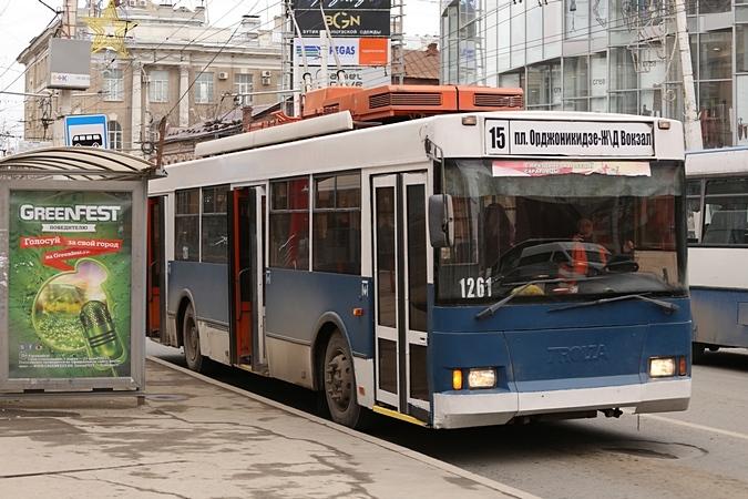 сохранения троллейбусов в