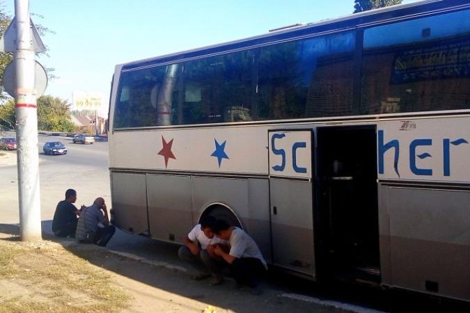 В Саратове задержан автобус с